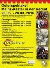 Mittelaltermarkt in der Reduit am Rheinufer 26 . - 28.03. ´16